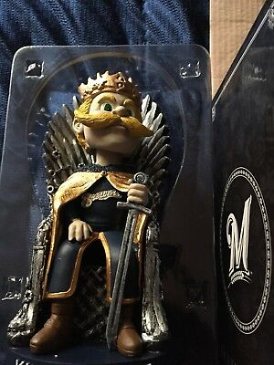 2017 King Bernie Game Of Thrones Milwaukee Brewers Bobblehead GOT SGA