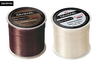 EX DISPLAY DAIWA INFINITY FLOOR IT FLUOROCARBON LINE 1000M 10LB brown