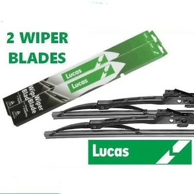"Vauxhall Astra MK4 LUCAS Premium Conventional 20"" & 19"" Windscreen Wiper Blades"