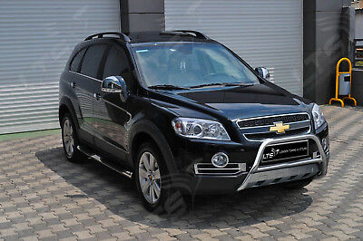 Chevrolet Captiva Chrome Nudge A-Bar, Stainless Steel Bull Bar 2006-2011 W K