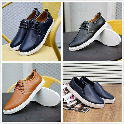 NEW 2018 European style leather Shoes Men's  Casual 13 size Fashion Dress Shoes