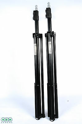 Lot of 2 Studio Systems W803 7ft. Light Stands