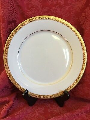 Lot of 6 ROYAL GALLERY ~GOLD BUFFET~ BREAD & BUTTER  PLATES~ Mint ~