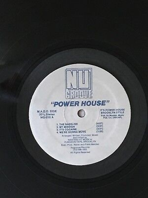 Masters At Work ‎– Power House Nu Groove Records House