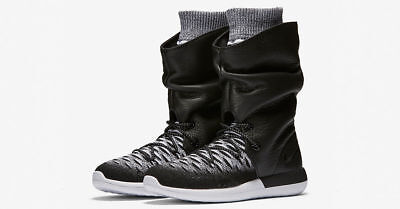 d6ae86a0493e9 NIKE WOMEN S SIZE 5 Roshe Two Flyknit Hi Boots 861708-002 MSRP  225 ...