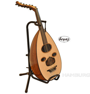 Professional Arabic Oud with Under Sadle Pickup include Oud Stand  Gigbag
