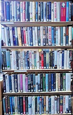BIOGRAPHIES / AUTOBIOGRAPHIES: job lot box of approximately 35 mixed adult books