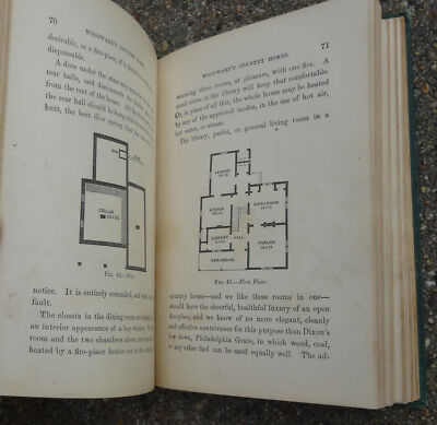 1865 1st ed. PLANS HOUSEPLANS HOME DESIGN PLANS Woodwards Country Homes