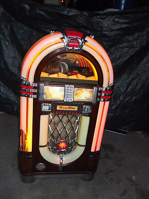 top wurlitzer jukebox one more time original musikbox f r cd s vintage picclick de. Black Bedroom Furniture Sets. Home Design Ideas