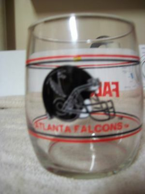 VINTAGE NFL Atlanta Falcons Promotional GlassTumbler