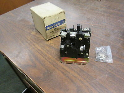 Westinghouse Overload Relay AA13A Size 1 3P New Surplus