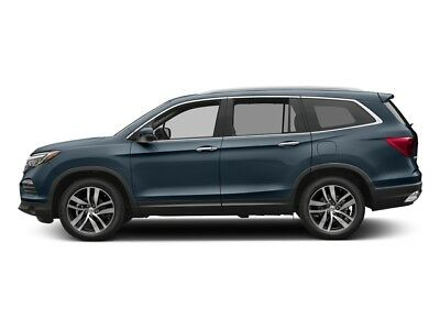 2017 Honda Pilot Touring AWD Touring AWD New 4 dr SUV Automatic Gasoline 3.5L V6 Cyl Steel Sapphire Metallic