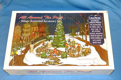 Dept 56 All Around The Park Village Animated Accessory Set - NIB