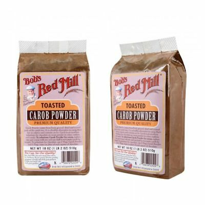 HEALTHY Toasted CAROB POWDER-Bob's Red Mill,No Fat,Caffeine Free,VEGAN EXCELLENT