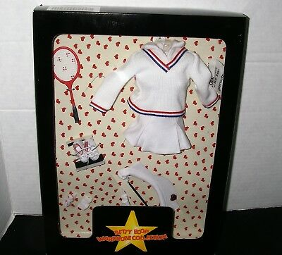 Betty Boop ~ Wardrobe Collection ~ White Tennis Outfit