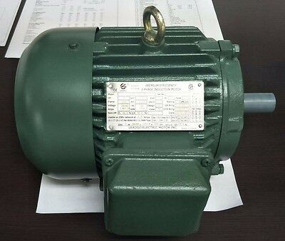 5 HP Electric Motor 184T 3 PH 1800RPM Premium Efficient Severe Duty CSA Approved