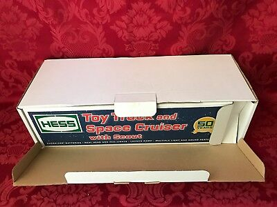 """2014 Hess """"toy Truck And Space Cruiser With Scout""""-New In Factory Box-Mint"""
