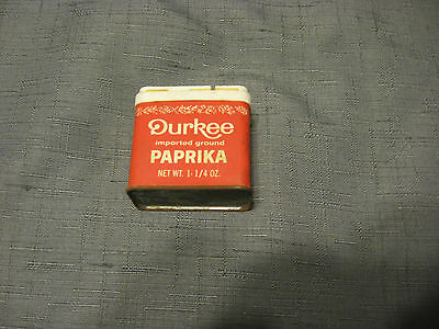 DURKEE IMPORTED GROUND PAPRIKA RED TIN CAN (1 1/4oz)