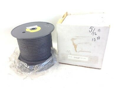"JADCO 3165 2#/BOX 5/16"" GLAND / PUMP PACKING C07-0181  OPEN BOX approx 8# (B103)"