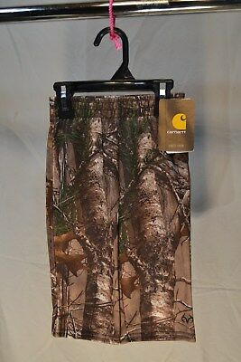 Carhartt Real Tree Camo Sweatpants Infants/Toddlers/Kids Sizes CK8369 NWT