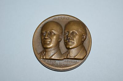 Bronze High Relief Ohio Wright Brothers Medal Metallic Art Company Pre-owned