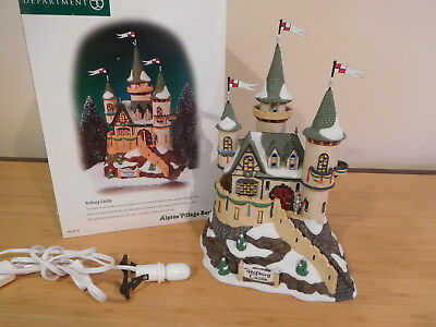 Dept 56 Alpine Village - Hofburg Castle