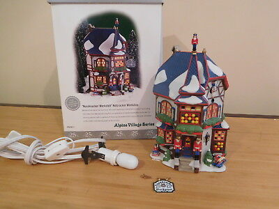 "Dept 56 Alpine Village - Nutcracker Workshop ""Nussknacker Werkstatt"""