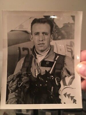 VIETNAM MIG KILLER NAVY Jerome Beaulier signed WARTIME? photo