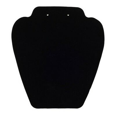 Black Velvet Earring & Necklace/pendant Jewelry Display With Easel Stand