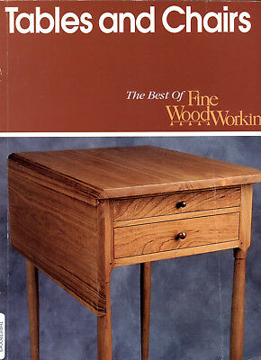 Tables and Chairs - The Best of Fine Woodworking - Softbound