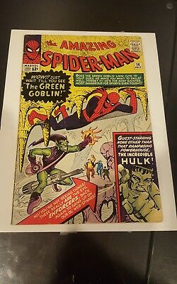 The Amazing Spider-Man #14  First Appearance of Green Goblin