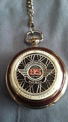 Harley Davidson Heritage Springer Pocket Watch (Franklin Mint)