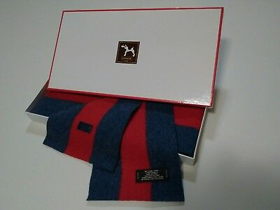 Coach Kids cold weather scarf - 100% lambs wool - boys