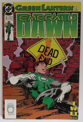 1989 Green Lantern Emerald Dawn  #2  -   Vf                      (Inv15856)