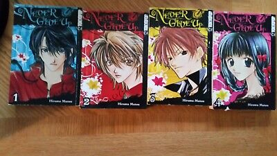 Never Give Up Manga - Complete Set - Vols 1-8