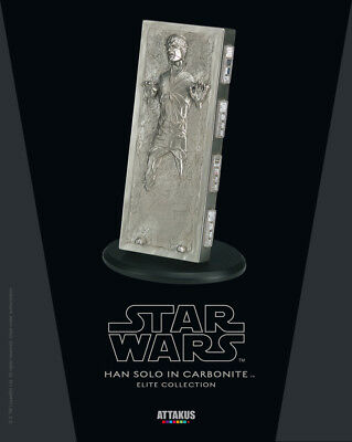 Star Wars Elite Collection Statue Han Solo in Carbonite 18 cm Attakus
