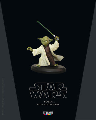 Star Wars Elite Collection Statue Yoda #3 18 cm Attakus