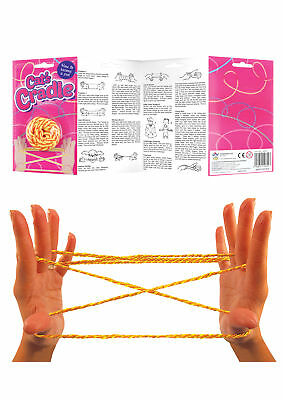 CAT'S CRADLE with Instructions Party Bag Toy Traditional String Game