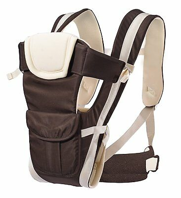 AnciTac Baby Carrier Backpack 4 Carrying Positions Ergonomic Sling Carrier for