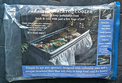 """French's TABLETOP COOLER 30"""" x 72"""", Ice Party Food"""