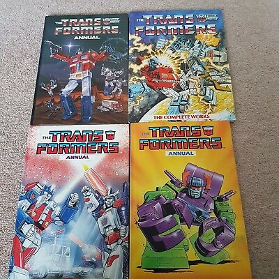 Transformers Annuals Bundle