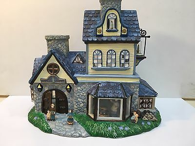 Holiday Old World Village #1 Building, CANDLE SHOPPE, PARTYLITE, Used no Box