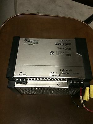 Acme Electric DR 2302410  Power Supply Input  230VAC Output 24VDC/10A
