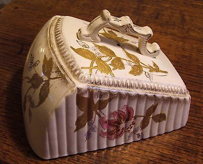 Antique Cheese Dish and Cover