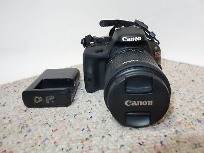Canon EOS Rebel SL1 18.0MP Digital SLR Camera With 18-55mm STM Lens - Black