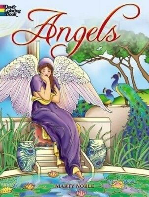 NEW! Angels Coloring Book Adult Dover Designs Patterns Creative Stress Relieving