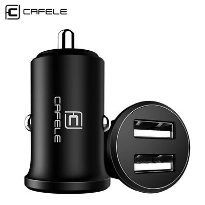 CAFELE 4.8A Car Dual Fast Charger & iPhone Android Charging USB Data Sync Cable