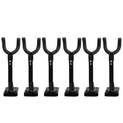 6pcs Wall Mount Swivel Guitar Hanger Holder Hook Instrument Display Rack Stand