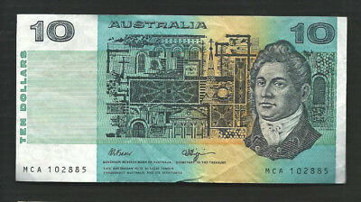 Australia 1990 10 Dollars P 45f Circulated