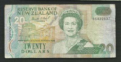 New Zealand 1992 20 Dollars P 179 Circulated